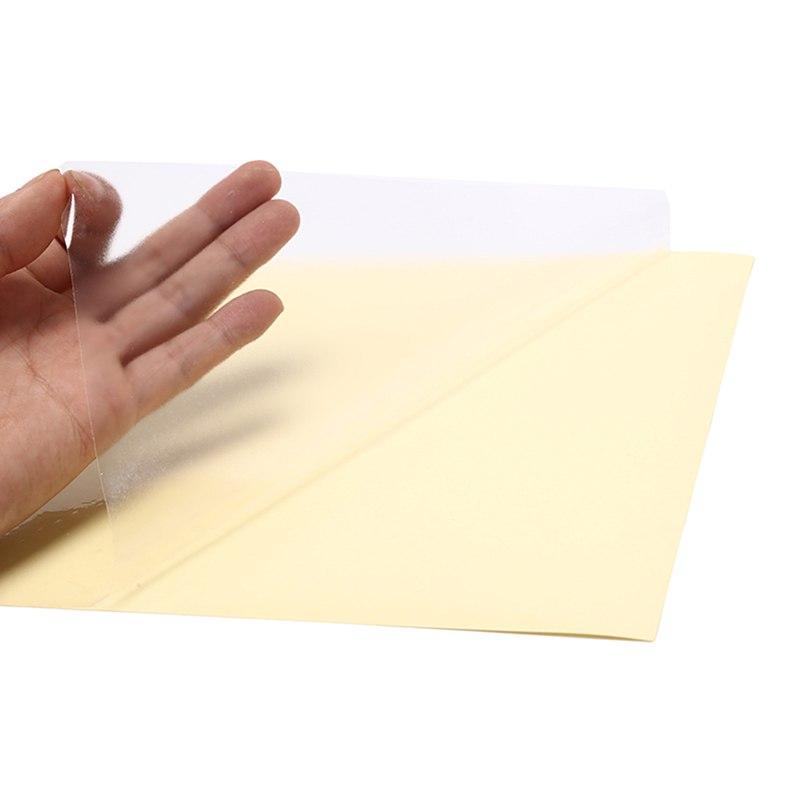 10 листов 21X29,7 см A4 прозрачная самоклеящаяся виниловая пленка наклейка для лазерного принтера