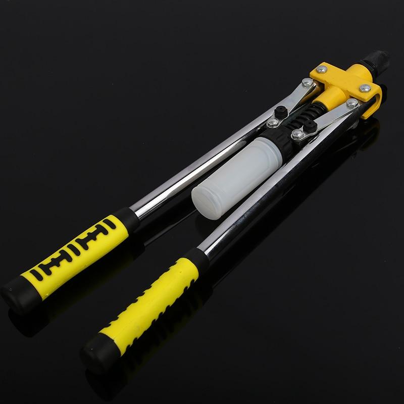 Double Hand Rivet Gun Manual Riveter Double Handle Nail Gun Hand Riveter Screw Gun Rivet Gun Professional Hand Tools