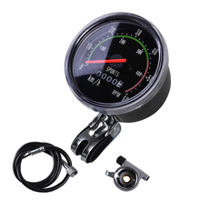 цена на Waterproof  Bike Speedometer Bicycle Classic Round Speedometer Vintage Cycling Odometer Stopwatch Bike Computer
