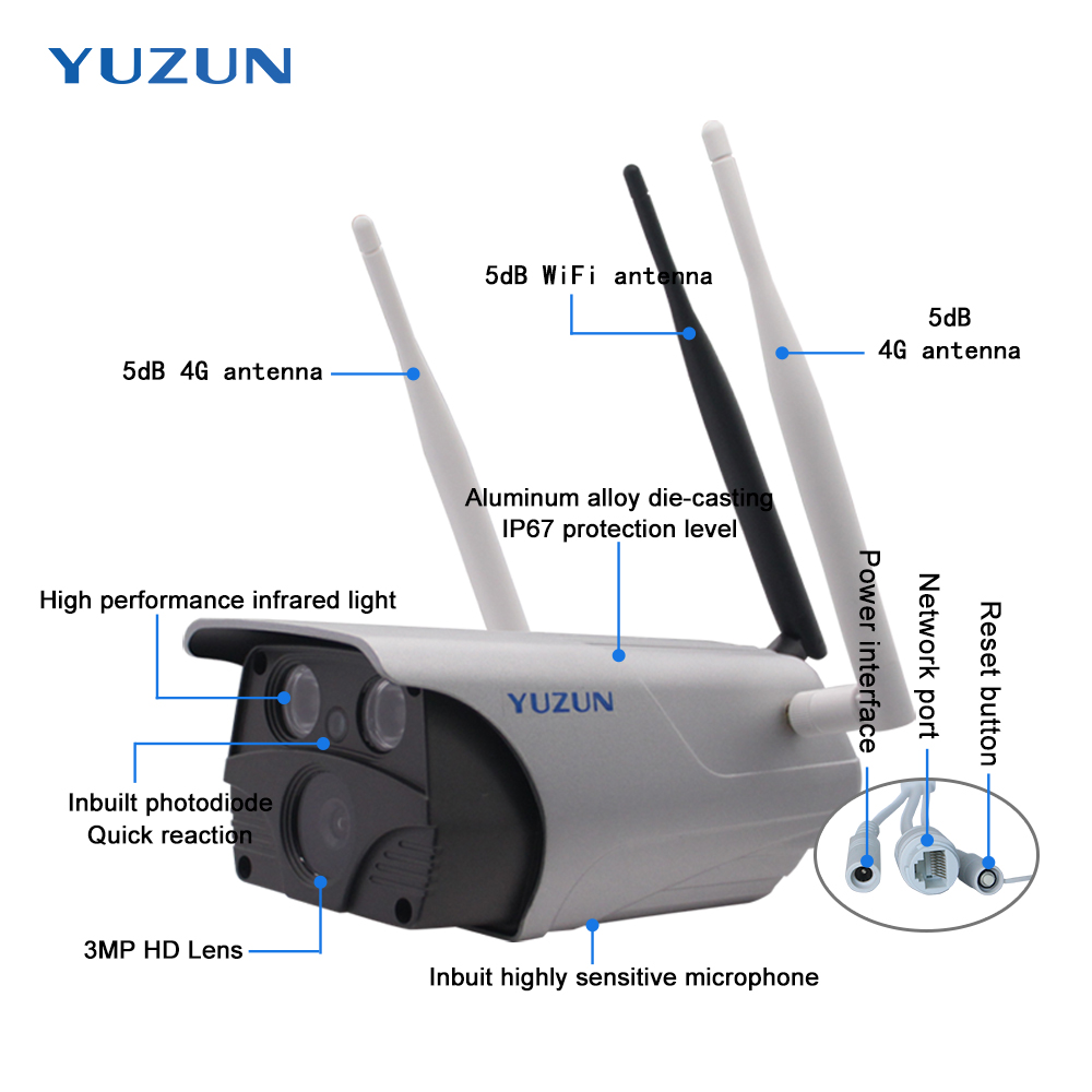 Купить с кэшбэком New 4G camera  wireless Outdoor  security camera 3g 4g ip camera wi-fiwaterproof ip 67 sim camera surveillance cam