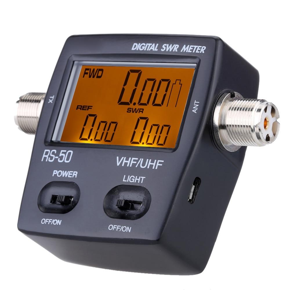 Digital Power Meter : Digital led backlight swr standing wave ratio electricity