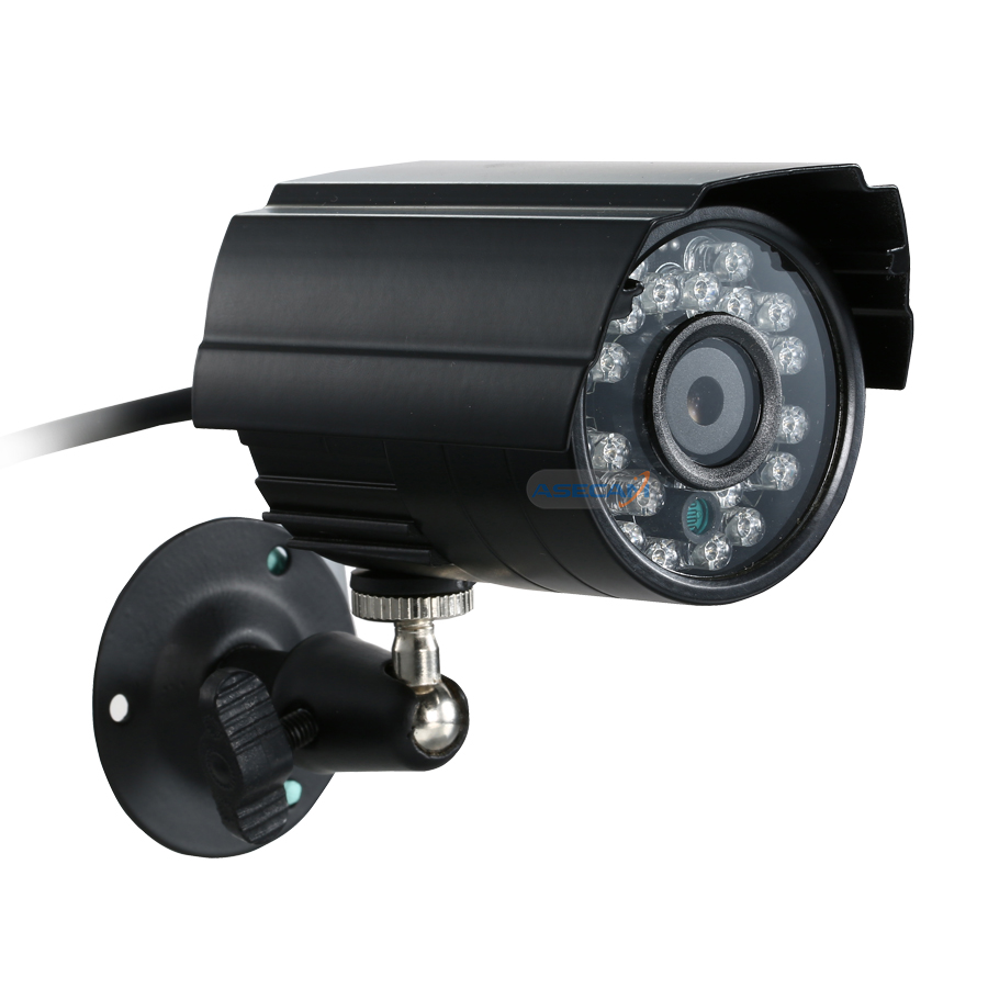Hot Super HD 1920P IMX322 AHD H System CCTV AHD Camera Outdoor Waterproof Small Metal Bullet IR 3MP Security Surveillance in Surveillance Cameras from Security Protection