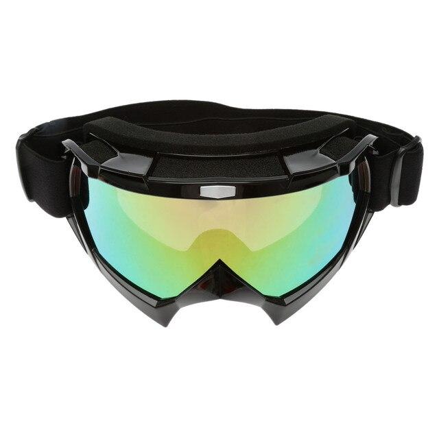 c98a94ed6 جديد حار شتاء للتزلج الثلج الجليد الثلج نظارات للدراجات النارية موتوكروس  الطرق الوعرة الإنحدار الترابية دراجة