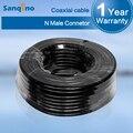 Ventas al por mayor 20 Metros Cable de 50 ohmios Cable Coaxial 5D Calidad Superior 20 m N Macho a N macho para Repetidor de Señal de Refuerzo y Antenas S20