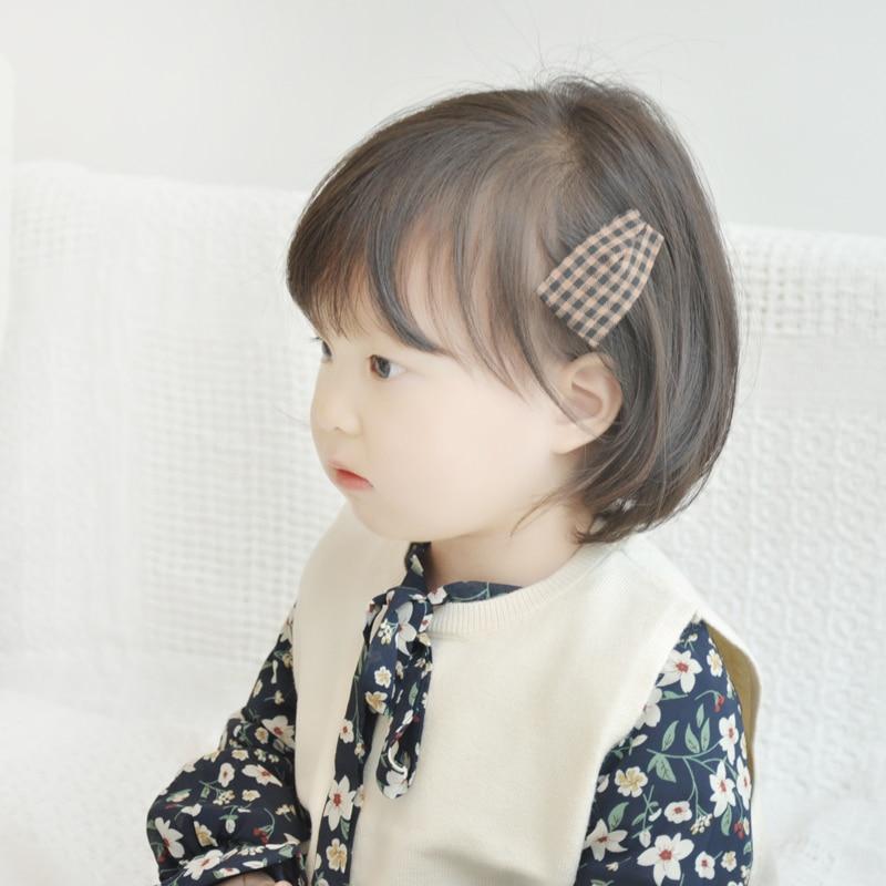 Sector Multi-style Plaid Stripe Dot Children Hair Pins Hair Grip Barrettes Hair Clip Baby Girls Headdress Cute Hair Accessories