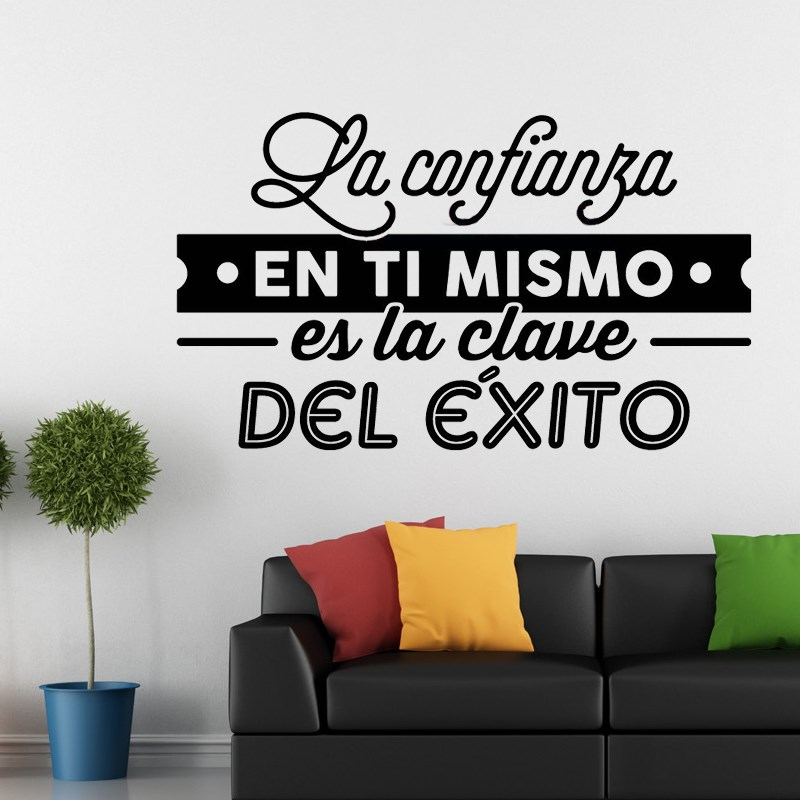 Spanish Outdoor Wall Decor : Wall stickers spanish quote decals vinyl muraux