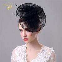 Wedding Hats For Women Vintage Net Bridal Hats Black Wedding Accessorie Brides Fascinator Wedding Birdcage Veil Face Veils BH009
