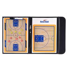 1 Set Basketball Coaching Board Coaches Clipboard Dry Erase Marker Double-sided Tactical Board Tactics Basquete Board