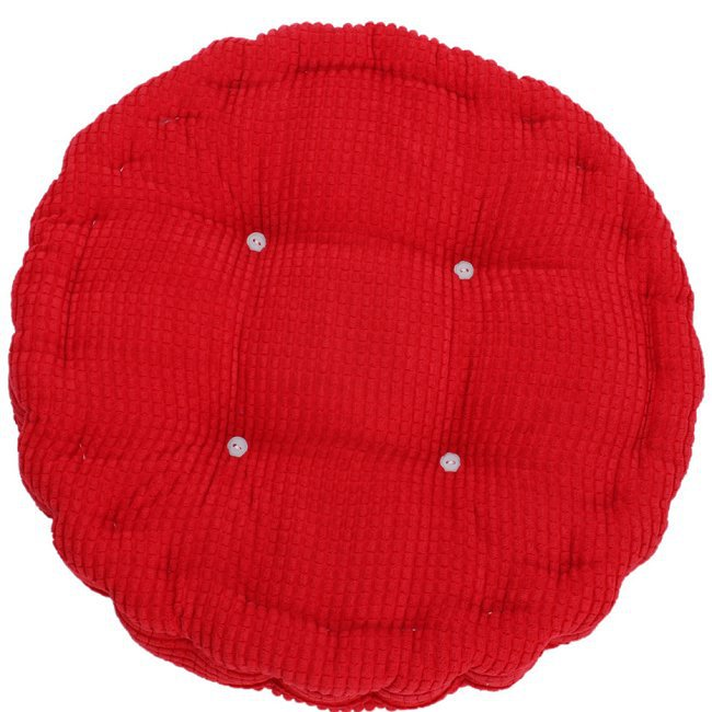 1pc 35cm Round Shape Plaid Chair Pad Cushion Thicker Soft Washable Cotton  Colorful Home Decor Floor Mat 672712 In Cushion From Home U0026 Garden On ...