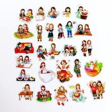 Adesivi belli kawaii cartoon sticker PVC Scrapbook libro a mano diario per bambini impermeabile adesivi giocattoli pegatinas ragazze regalo
