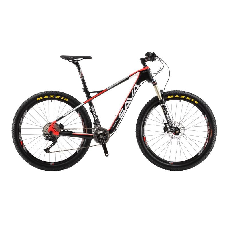 SAVA PLUS3.0 Mountain Bike 27.5 inch Carbon Fiber Bicycle Frame 22 ...