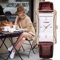 SINOBI Con Estilo Relojes de 2017 Semana de La Moda de Las Mujeres Ginebra Reloj Montre Femme Cuarzo de Las Señoras Relojes de Marcas de Lujo de Regalo de Navidad