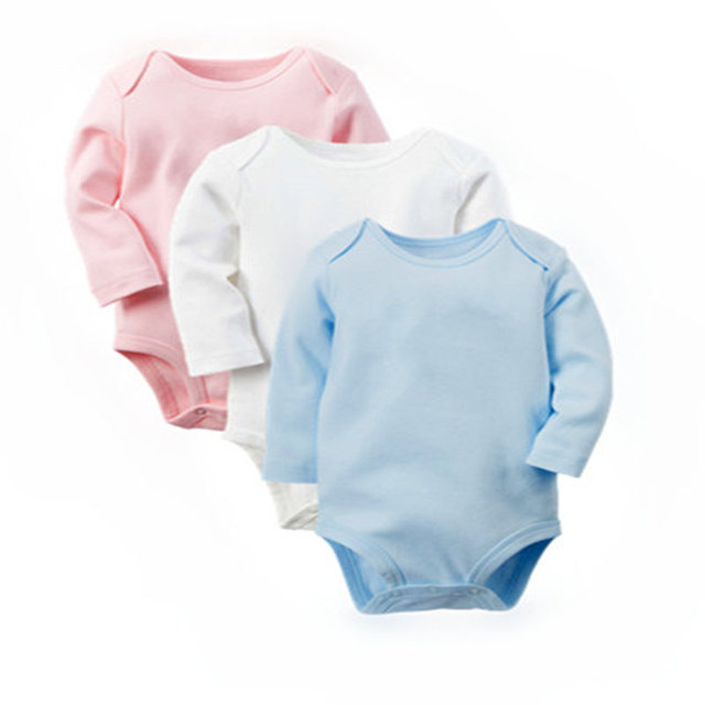Babykleding Jongen Newborn.Aliexpress Com Koop Baby Romper 3 Stks Lange Mouwen Pasgeboren Body