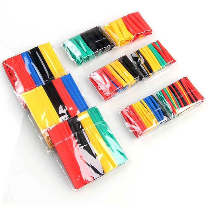 328pcs Assorted Electrical Wire Terminals Insulated Crimp Connector Spade Ring Set