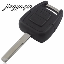 jingyuqin 2 Buttons Remote Key Shell fit for OPEL VAUXHALL Vectra Zafira Omega Astra Replace 2 BTN