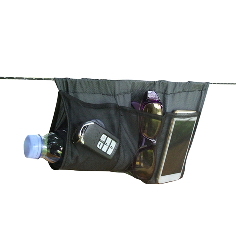 Multipurpose Hammock Organizer Lightweight Portable Foldable Storage Bag For Outdoor Sports Climbing Traveling Camping