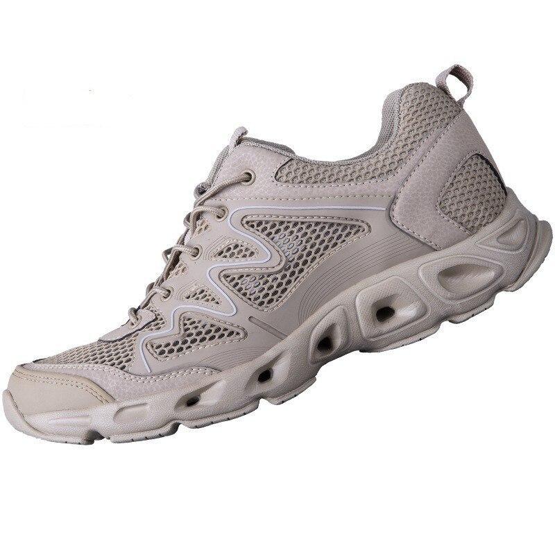 En plein air séchage rapide ruisseau randonnée plage eau chaussures hommes été escalade respirant pêche imperméable Wading chaussure en amont chaussures