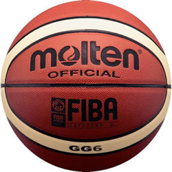Free Shipping Size6 Molten Basketball GG6, PU Materi Women Basketball