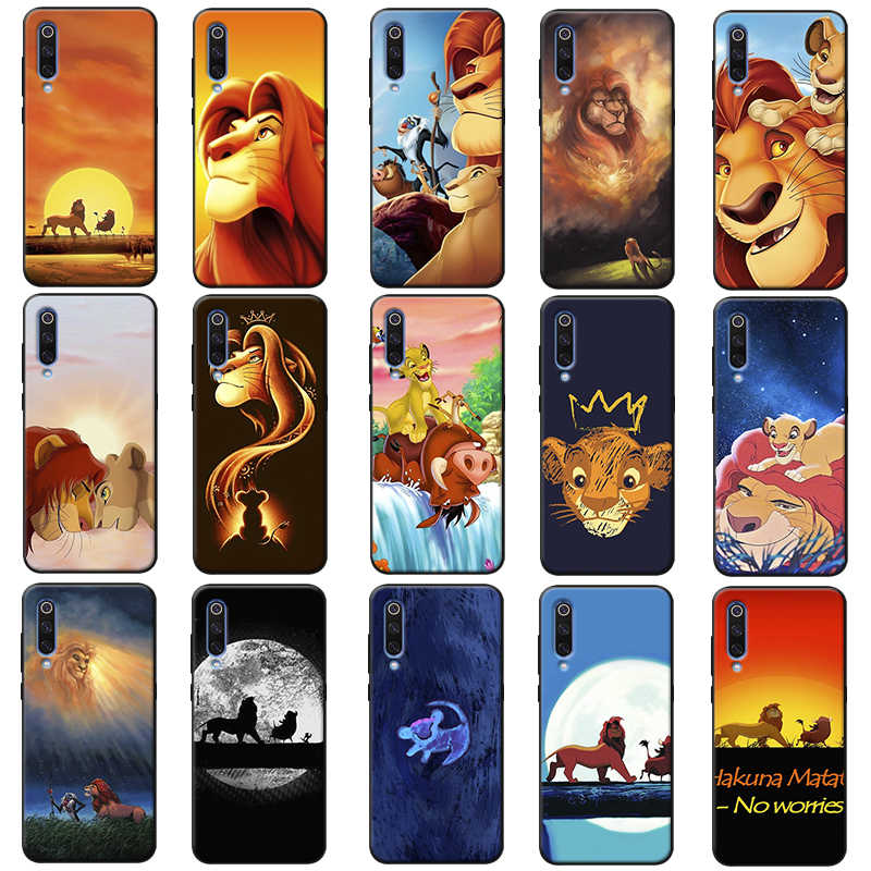 The Lion King Simba Hakuna Matata Kartun Lembut Silicone Ponsel Case untuk Samsung Galaxy A50 A70 A30 A40 A20 S8 S9 s10 PLUS
