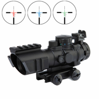 Spike Optical Sight 4x32 Hunting Ar 15 Gun Accessories Rifle Scope With Three Picatinny Rail