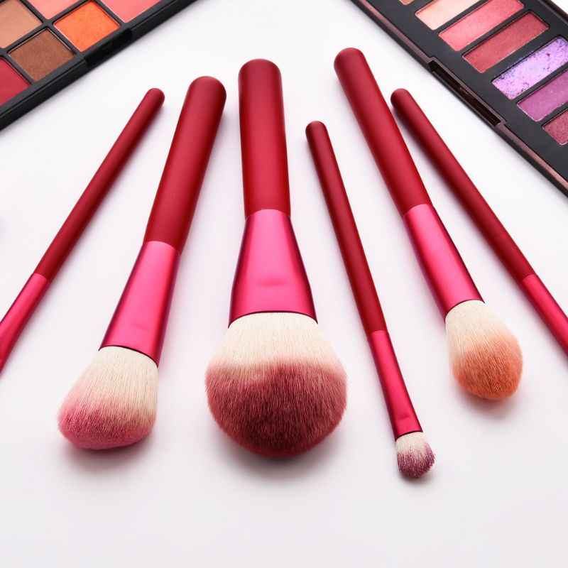 12pcs Pro Makeup Brushes Foundation Powder Eyebrow Eyeshadow Brush Set Kit With Pouch Bag