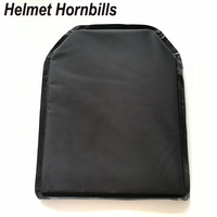 Helmet Hornbills 2pcs Lot 11 X 14 Aramid NIJ Level IIIA Bulletproof Soft Panel NIJ 3A