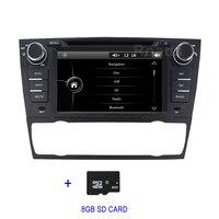 DVD мультимедиа радио плеер для BMW E90 E91 E92 E93 с BT gps навигации