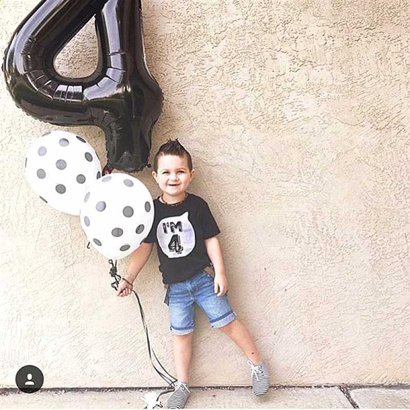 1 2 3 4 5 6 ปีวันเกิดเด็กฤดูร้อนฝ้าย T เสื้อพิมพ์เด็กทารกเสื้อยืดเด็กเสื้อยืด o-neck Tee หญิง Tops