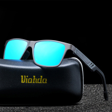 VIAHDA Polaroid Sunglasses Men Polarized 2016 Driving Sun Glasses Eyewear Male Sunglasses Shades Oculos De Sol With box