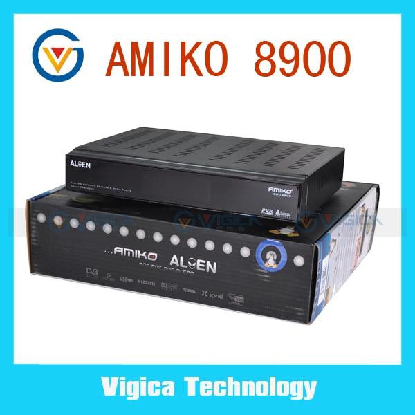 Amiko 8900 shd alien инструкция