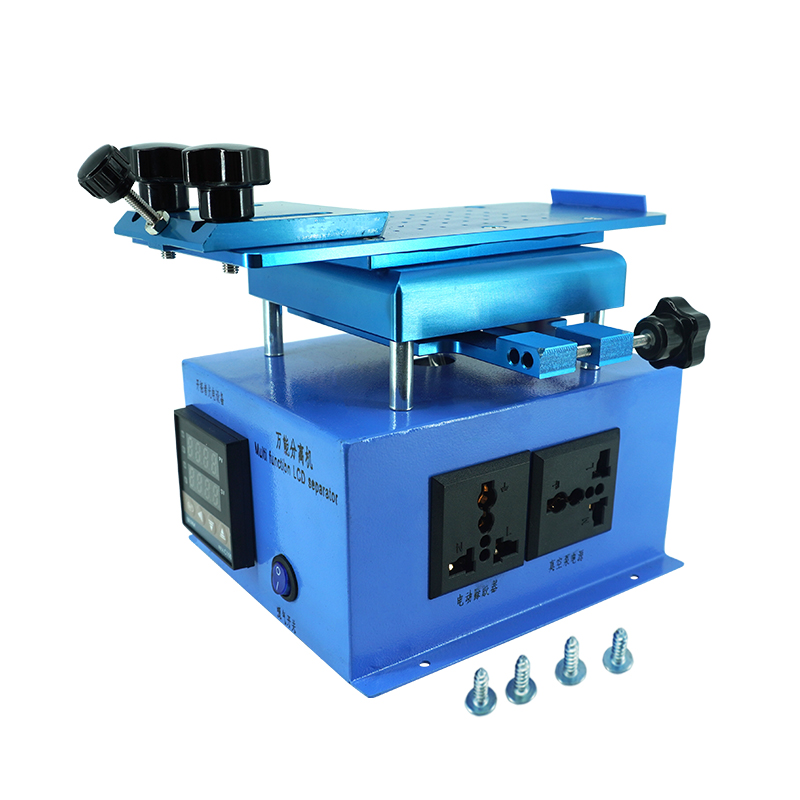 360 degree inframe separate machine lcd screen separator display heating machine