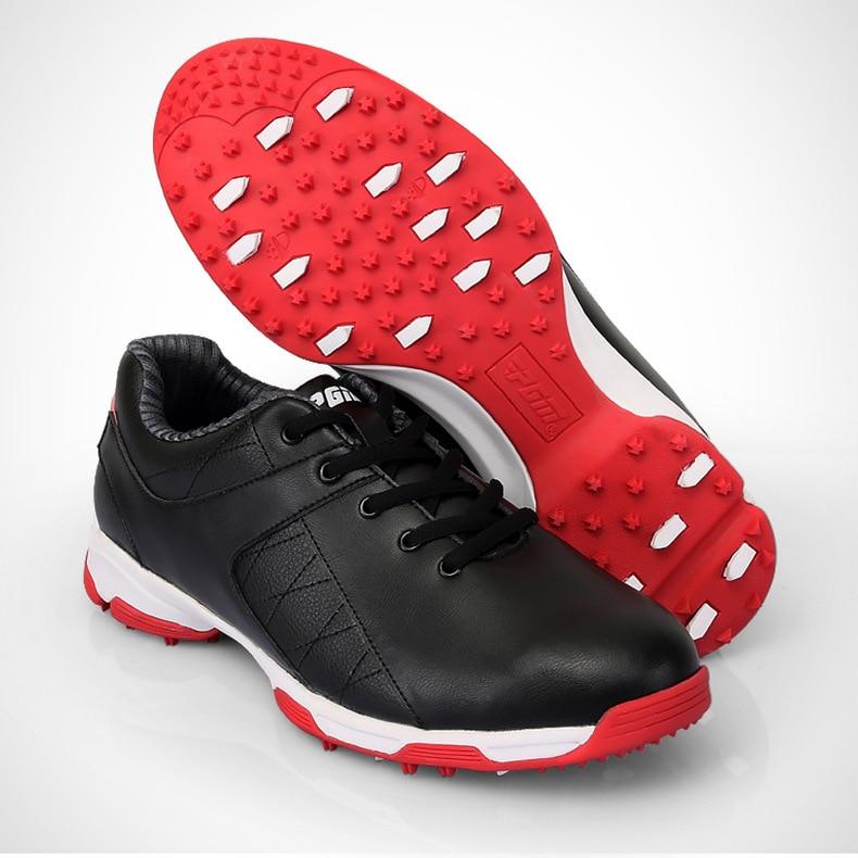 Hommes chaussures de Golf chaussures de sport de plein air imperméables EVA semelle intermédiaire en microfibre cuir respirant Anti dérapage clous pointes torsion