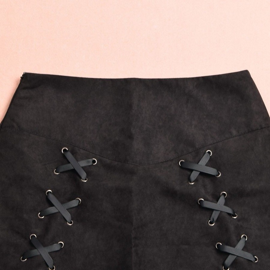Gothic Corset Skirt  (11)