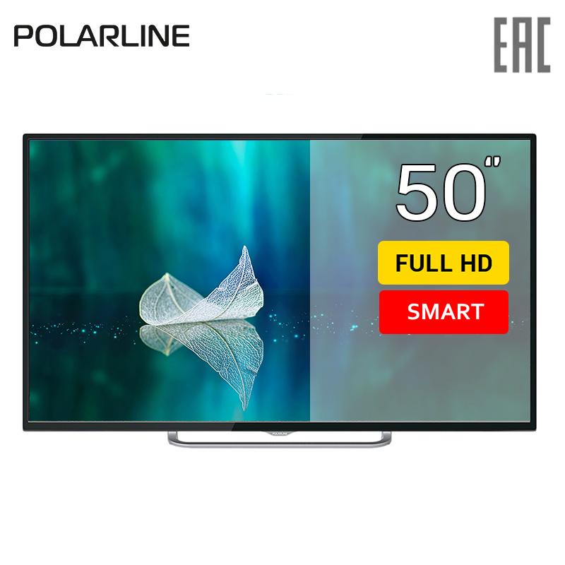 Фото - TV 50 Polarline 50PL51TC-SM FullHD SmartTV 5055inchTV dvb dvb-t dvb-t2 digital chunghop universal learning remote control controller l309 for tv sat dvd cbl dvb t aux big key large buttons copy