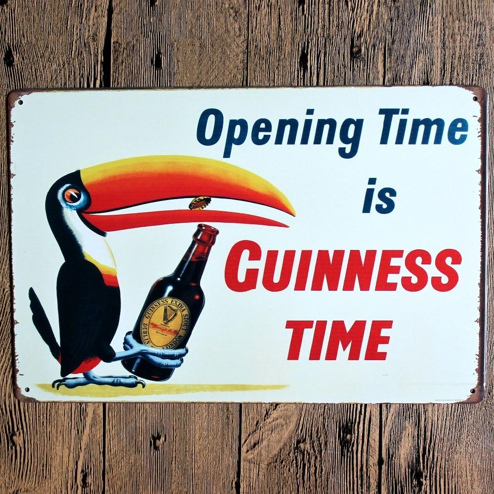 Härlig dag för en Guinness Metallmålning Retro Sign Wall Bar Hem - Heminredning - Foto 3