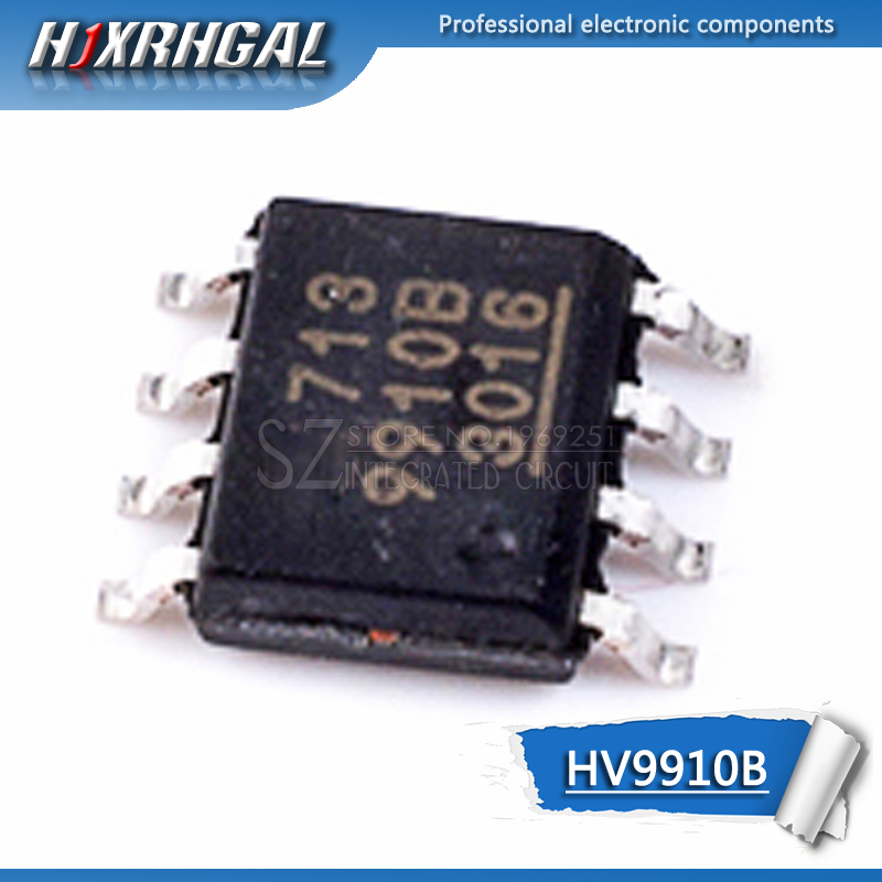 10pcs ORIGINAL HV9910 HV9910B  LED driver SOP-8
