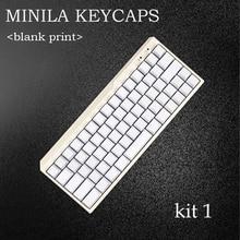 Передняя printedMechanical клавиатура keycap Пустой белый/черный pbt keycap для MINILA Filco Механической клавиатуры