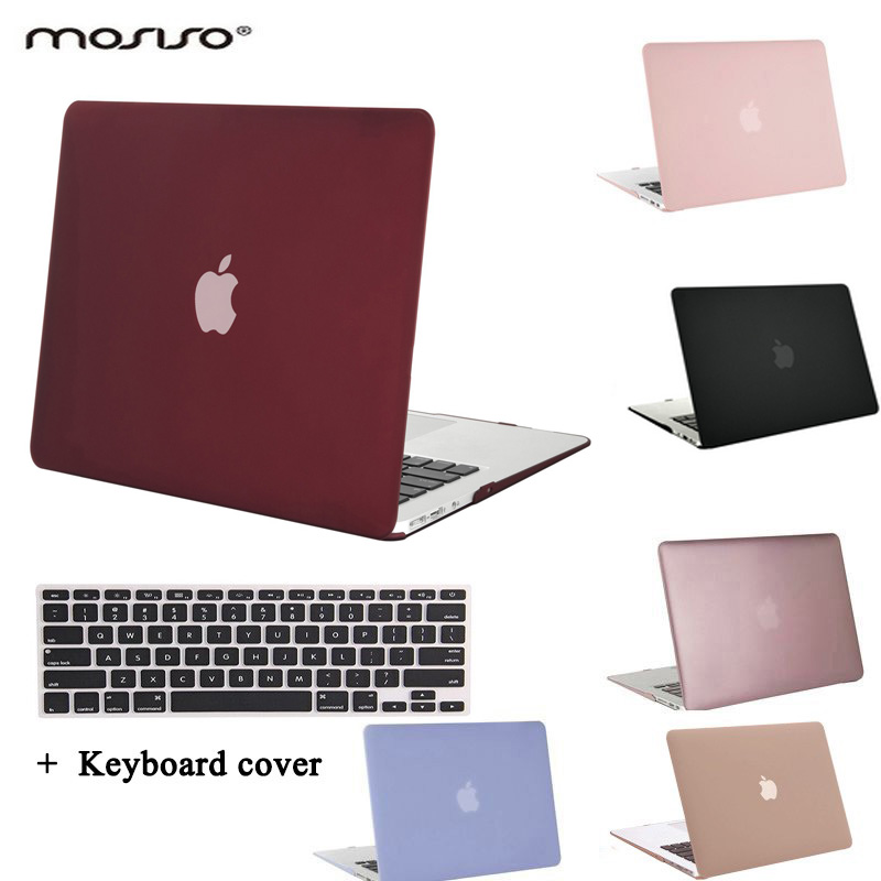 pretty nice 49a2f f22df MOSISO For Macbook Air 13 11 Plastic Hard Cover Case For Mac Book Air 11.6  13.3 inch Laptop Shell Cover+Keyboard Protector Film-in Laptop Bags & Cases  ...