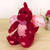Envío Gratis Shake Alas de Dinosaurio de Juguete de Felpa Cantando Peluche Animados Animal Kid Doll Regalo Bonito Regalo De Navidad para Niños # SS