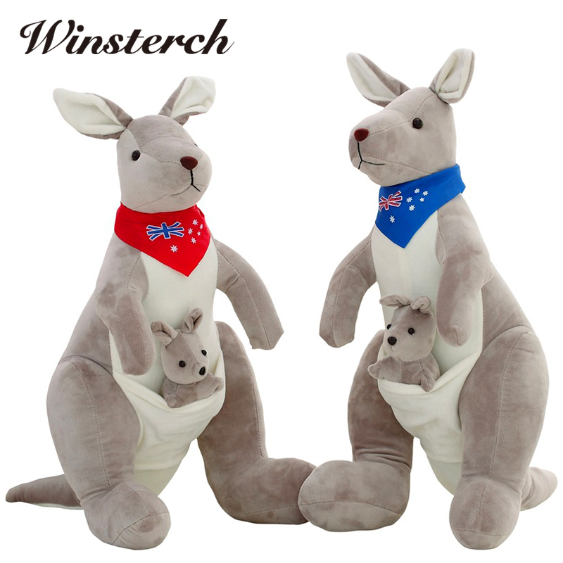 Mother And Baby Gifts Australia : New pattern australia lovely mother and baby kangaroo doll