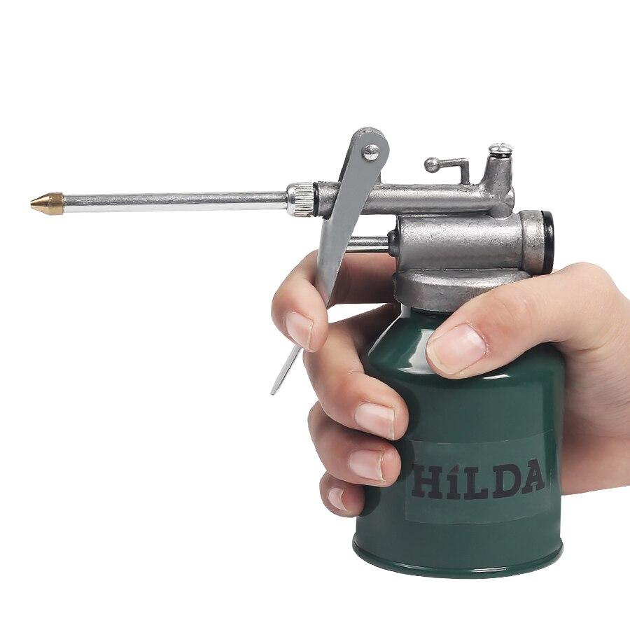 MX-DEMEL 250g HVLP Lack Spritzpistole Öl Pumpe Dosen Öler Schlauch Fett Maschine Für Schmier Airbrush Hand Werkzeuge Öler reparatur
