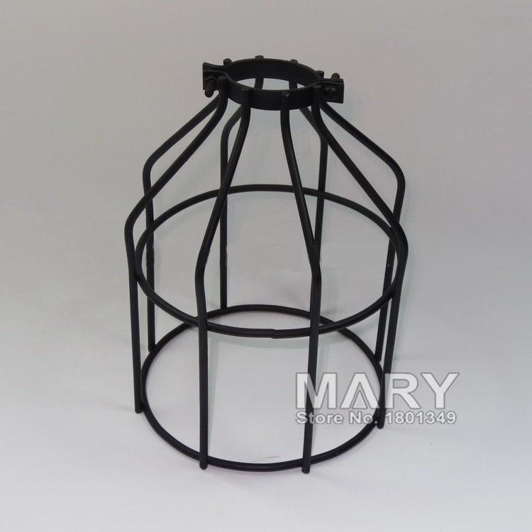 Loft cage black retro edison vintage edison cage lights ,wire lamp ...