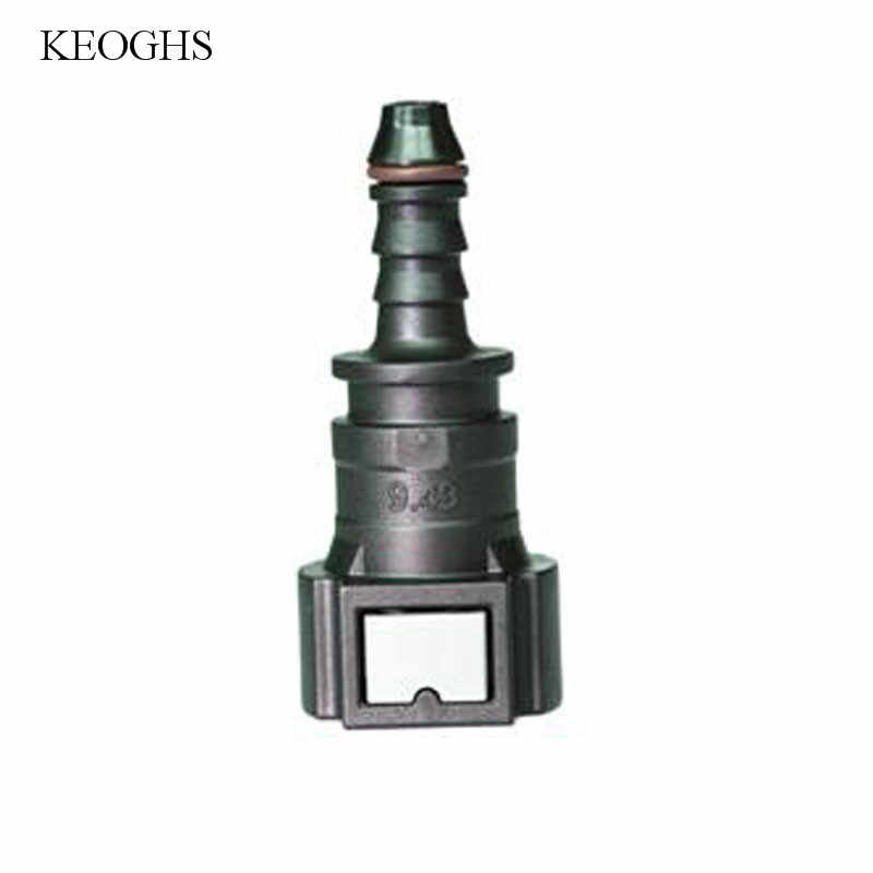 KCSZHXGS 9.49 ID6 fuel hose connectors straight male female connector for  6-8mm tube fuel quick connectors  1pc