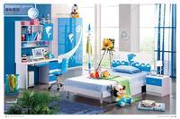 102 Modern Style Children Bedroom Set Furniture Wooden Bedroom Furniture