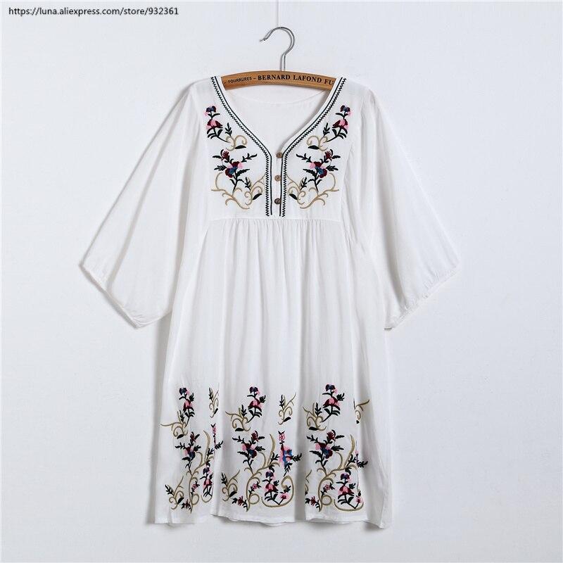 2ef77f82dd Femmes Tendance La bleu 10 Taille noir Couleur Plus rose Robe Floral Tops  pu Beige blanc ...