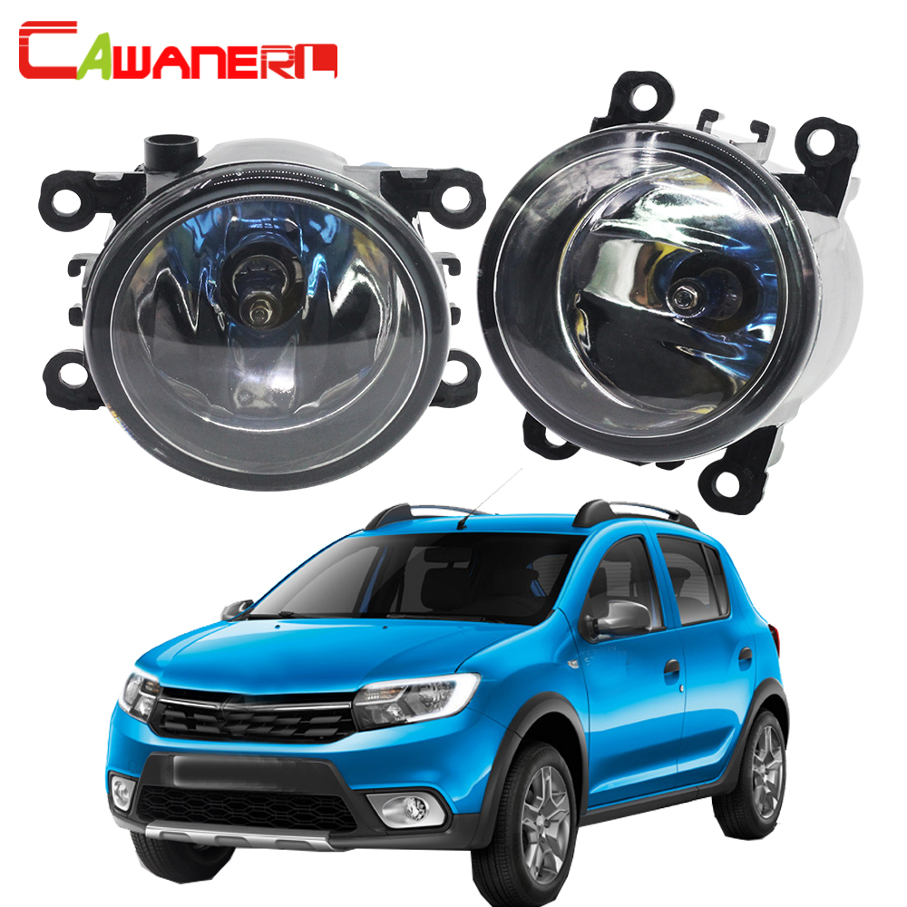Cawanerl 2 X 100W H11 Car Halogen Fog Light DRL Daytime Running Lamp 12V For Renault Sandero / Stepway Hatchback 2008-2015 reno sandero stepway с пробегом псков
