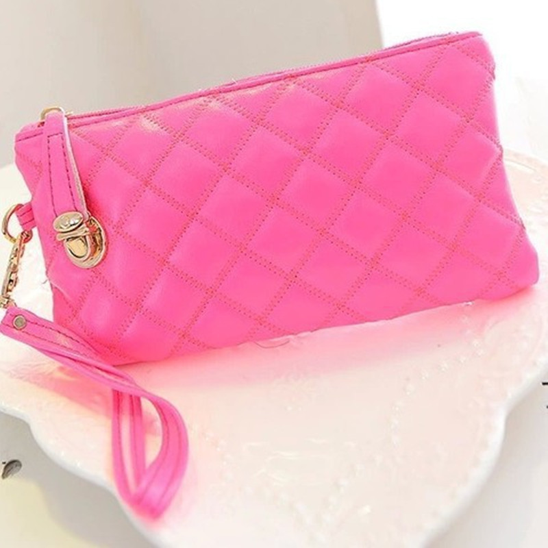 Europe popular Big Capacity handle Soft wallet can put phone coin purse female hand wallet collins big road atlas europe