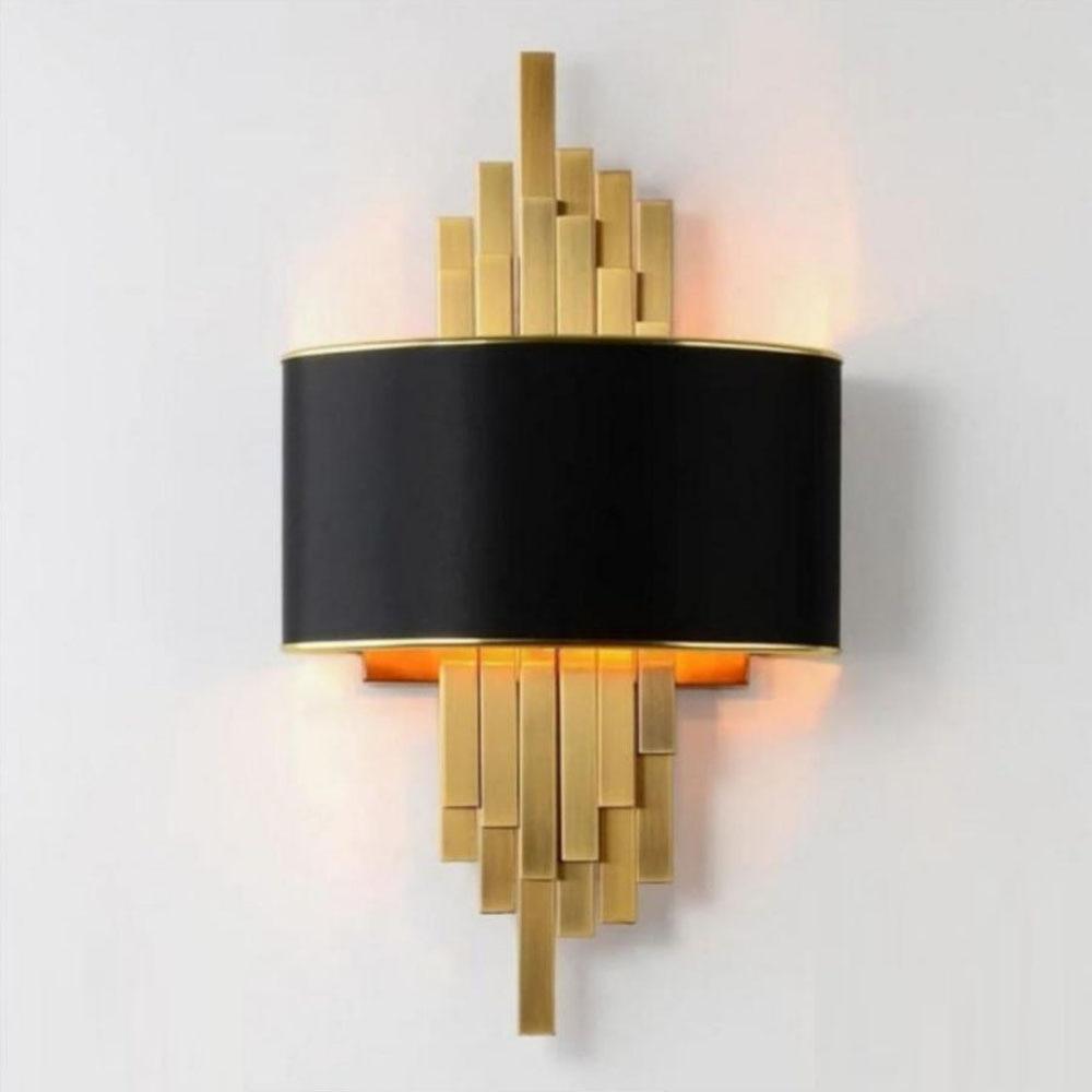 contemporary style wall lights black wall sconce AC110V 220V LED living room bedroom lamp
