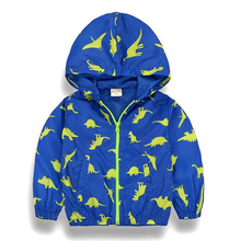 Boys jackets Spring Autumn Hooded clothes Baby Boys Outerwear Coats Children Jackets For Boys 2-8Y Kid trench high Clothes