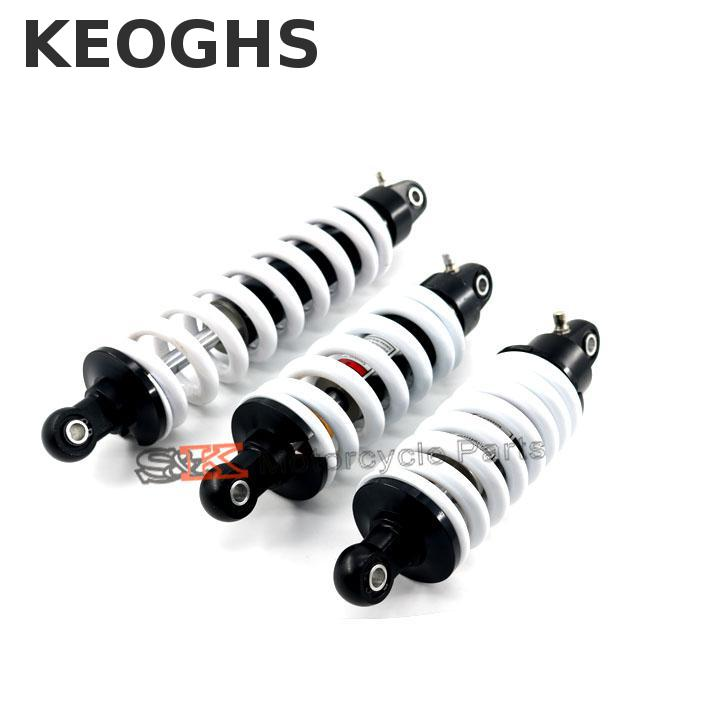 Keoghs Motorcycle Rear Shock Absorber Suspension 260mm 265mm 270mm 290mm 325mm Not Adjustable For Dirt Bike Pit Bike Motocross 27cm rear shock absorber suspension protector protection cover for cr ttr 50 80 110 pit dirt bike motorcycle atv quad motocross